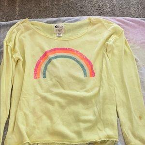 Yellow billabong sweater